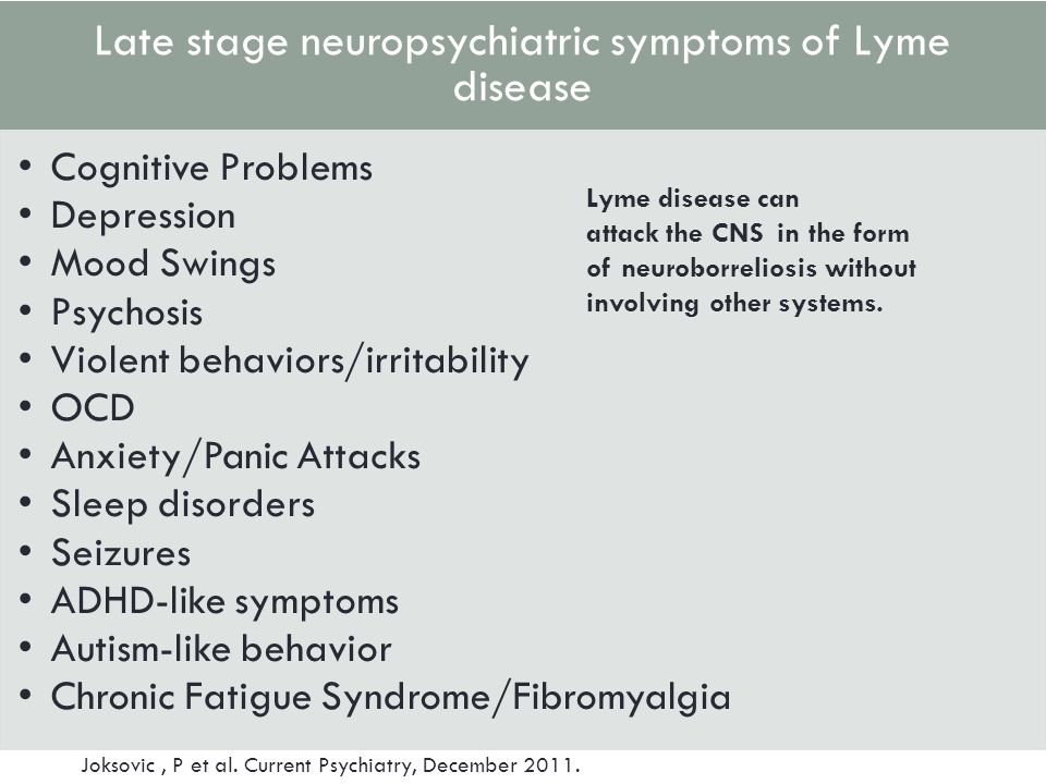 chronic lyme disease and stress psychology essay Chronic lyme disease treatment - an anthropologist with chronic lyme  my  existence was psychological in nature, most likely due to stress.