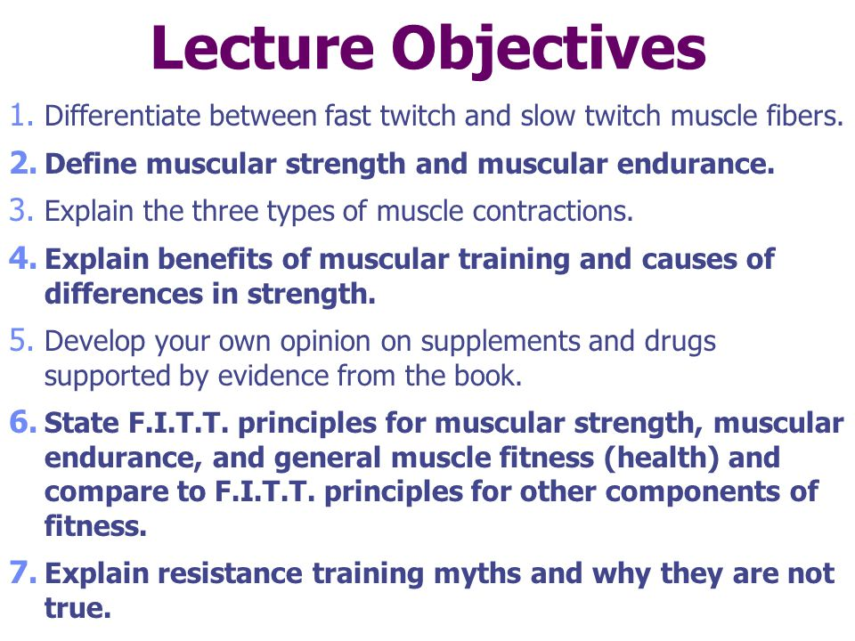 how to develop quick twitch muscles