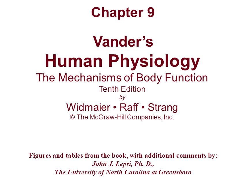 human physiology book pdf download