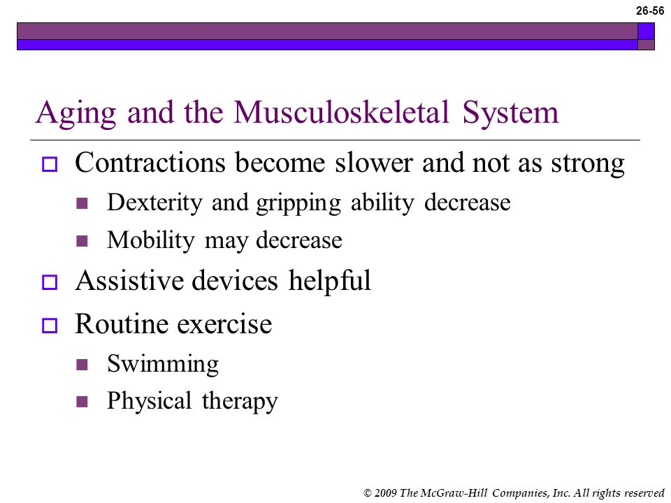 the aging musculoskeletal system Chapter 62 nursing assessment musculoskeletal system dottie roberts we must be the change we want to see mahatma gandhi learning outcomes 1 describe the gross.