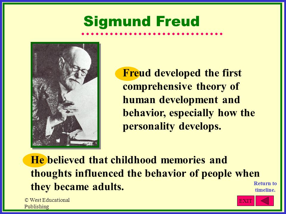 freuds contributions to the field of psychology Describe anna freud and her background, theoretical perspective, and contributions to the field of psychology please provide a skeleton model response to get me.