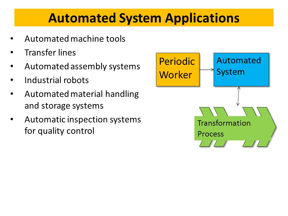Automation Amp Robotics Lecture 01 Automation Introductory