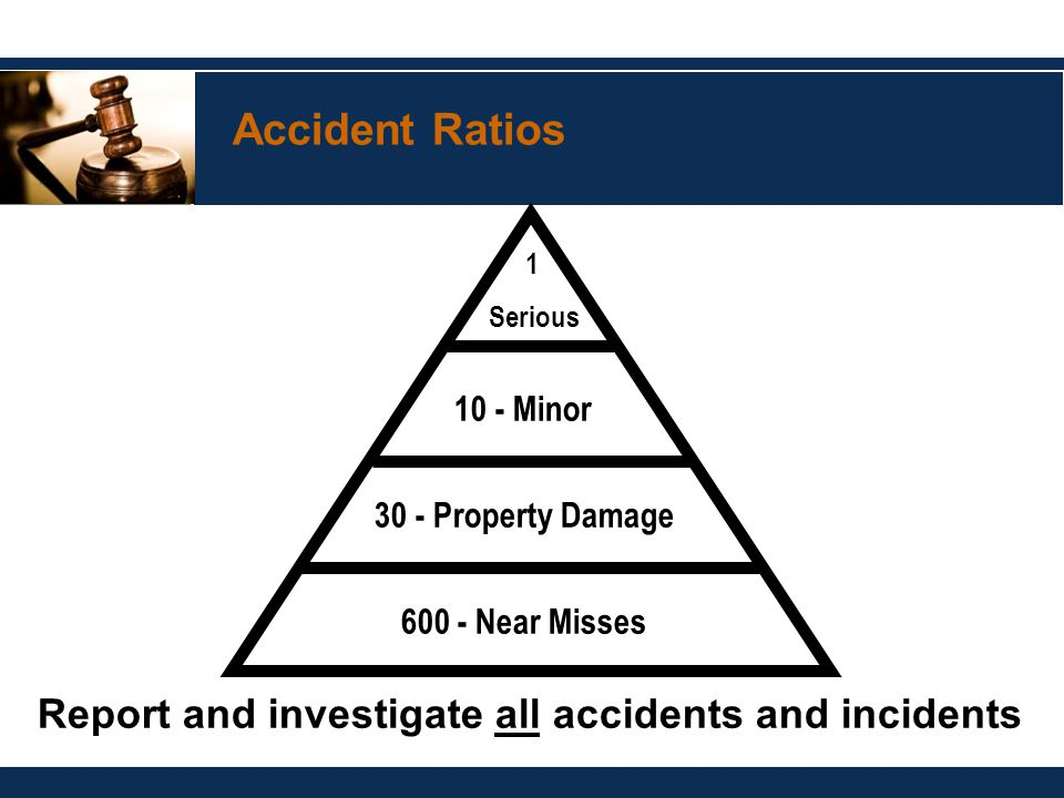 Accident Ratio Studies by Andy Nairn - Safety Officer Courses