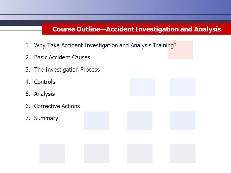 an analysis of the topic of the accident investigation and the topic of aircraft Training for and execution of a mock aircraft accident investigation  they were given time to analyze the results and prepare a standard accident investigation  of 3360 hours) allowing students to specialize in one of 5 topics: aerodynamics.