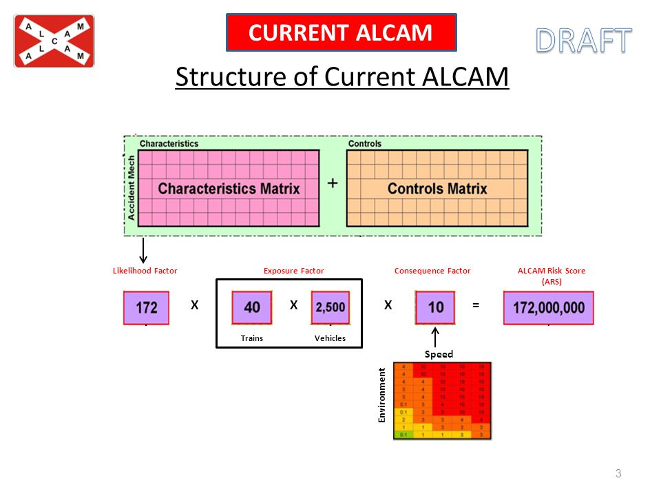 Structure of Current ALCAM