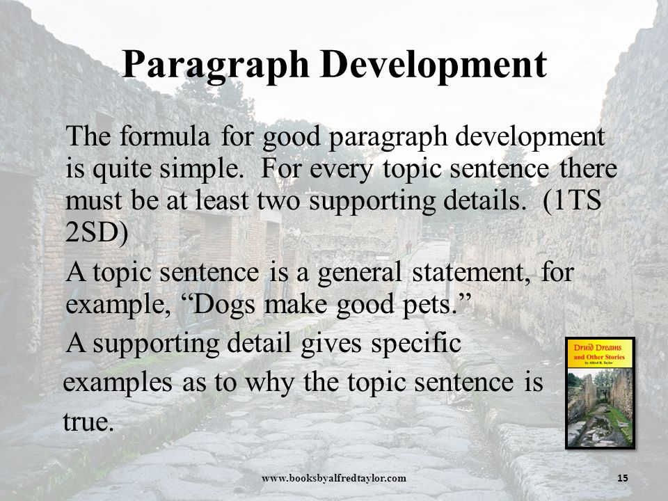"paragraph development examples 5 examples of sustainable development although sustainable development is defined in multiple ways, the most often cited definition of the term comes from the bruntland report titled, ""our common future""."