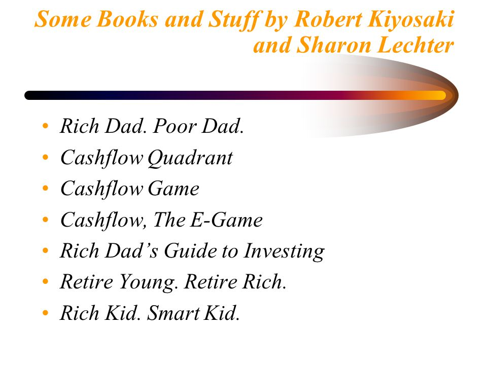 """The Consumer Economy and """"Rich Dad. Poor Dad."""" - ppt video ..."""