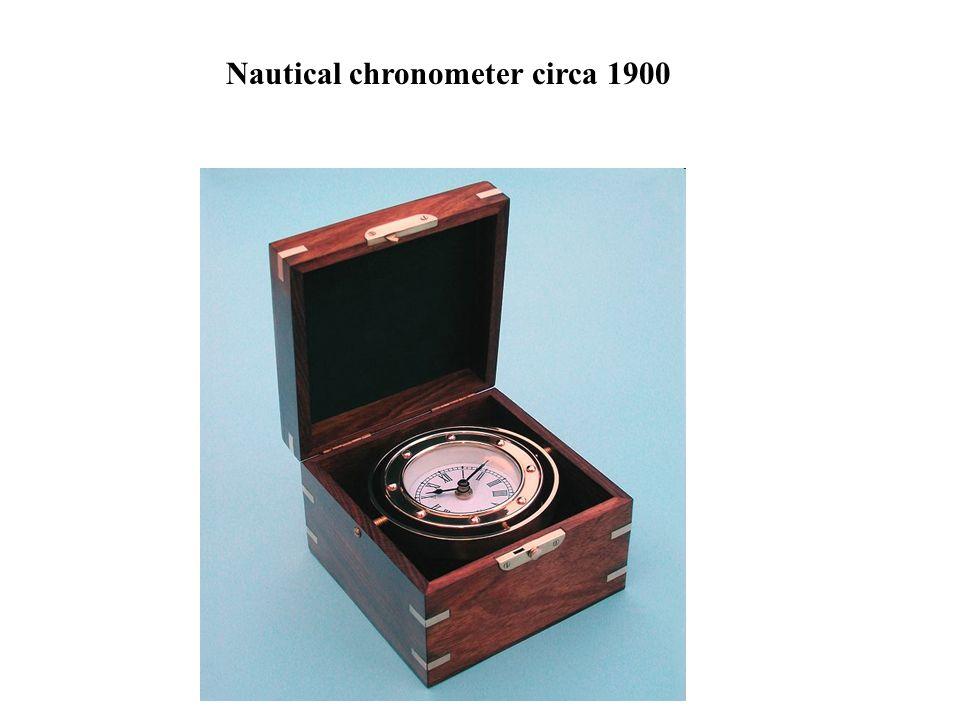 Nautical chronometer circa 1900