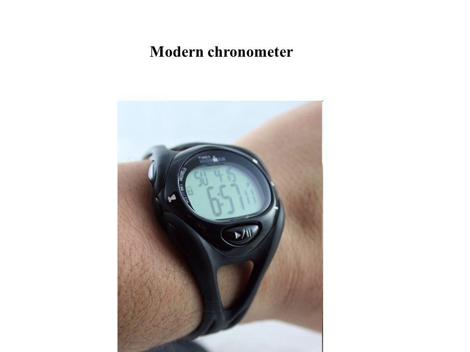 Modern chronometer