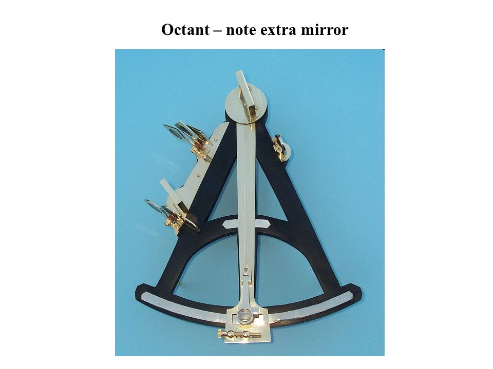Octant – note extra mirror