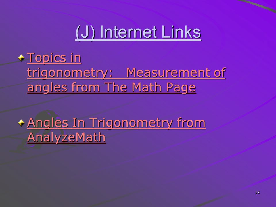 TF Angles in Standard Position and Their Trig. Ratios - ppt video ...