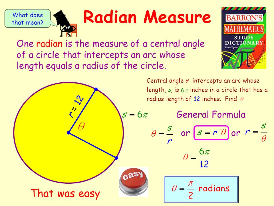 how to go from degrees to radians