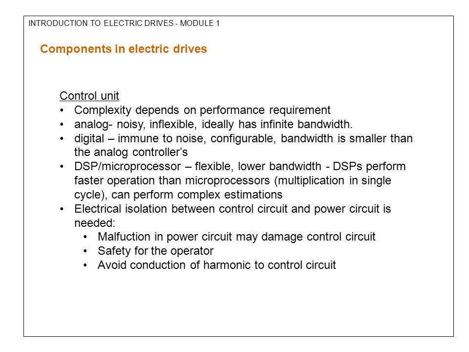 introduction to electromechanical controllers The electrical engineering electives must include a two-course sequence a list of   introduction to the dynamic analysis and control of robotic systems.