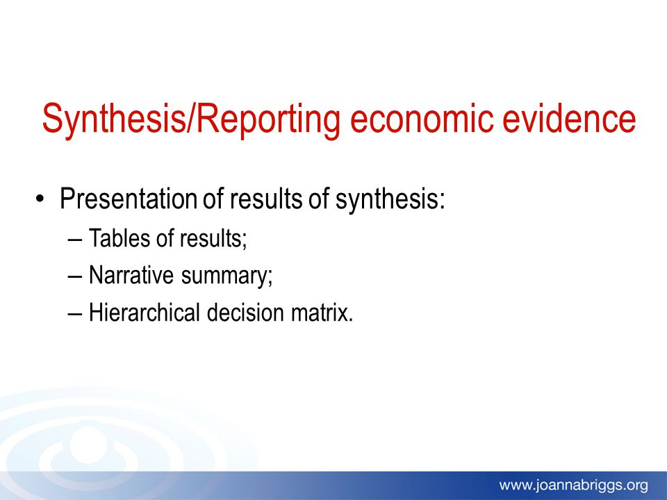 appraisal and evidence synthesis of two reviews A systematic review attempts to identify, appraise and synthesize all the empirical evidence that meets pre-specified eligibility criteria to answer a given research question researchers conducting systematic reviews use explicit methods aimed at minimizing bias, in order to produce more reliable findings that can be used to inform decision making ( cochrane library handbook section 122).