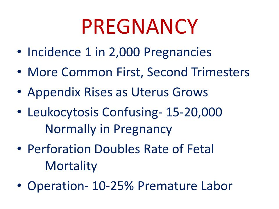 PREGNANCY Incidence 1 in 2,000 Pregnancies