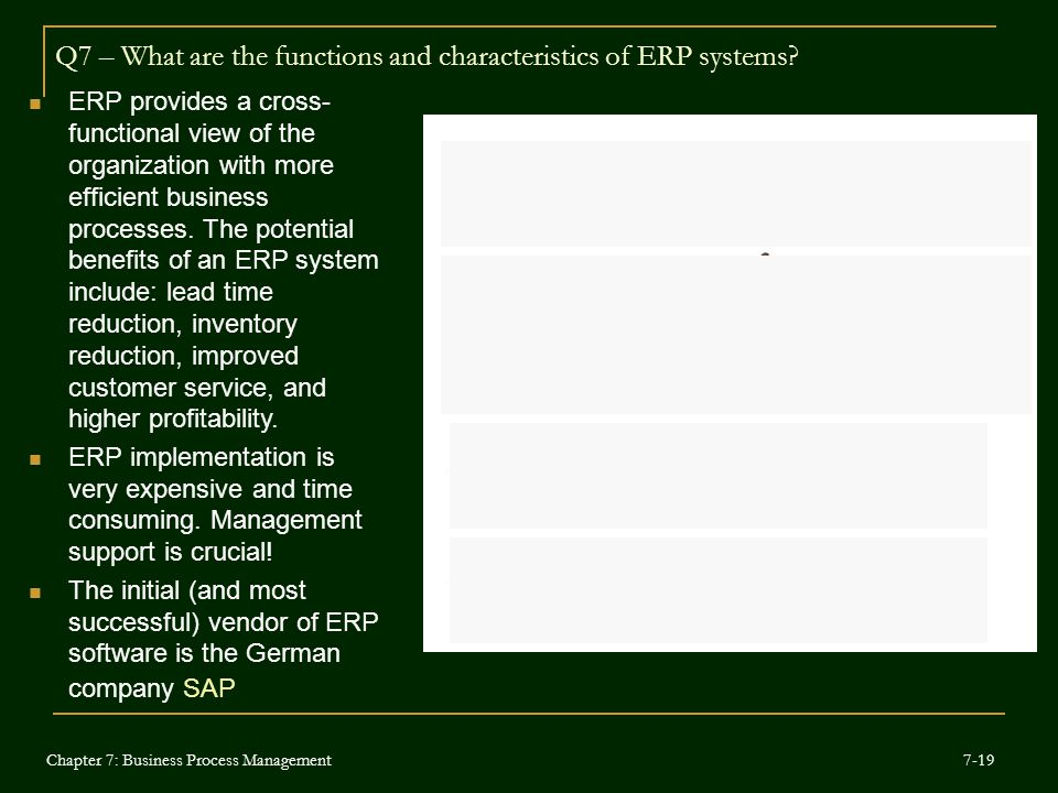 purpose of erp system