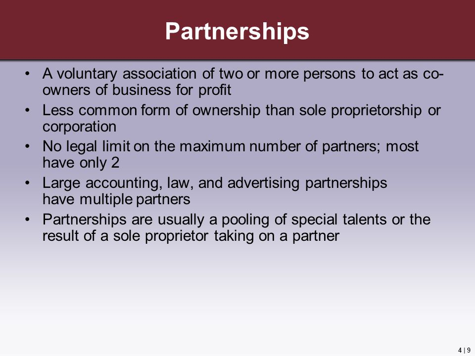 Choosing a Form of Business Ownership - ppt video online download