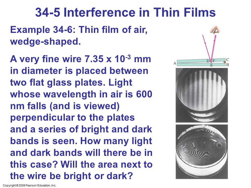 34-5 Interference in Thin Films