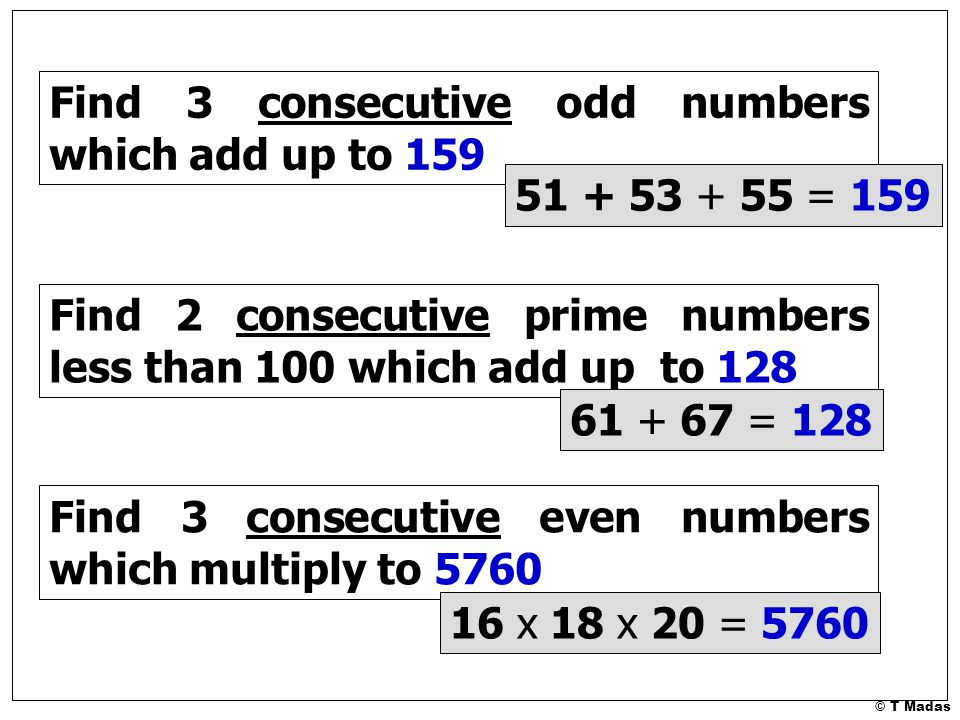 how to add consecutive numbers in excel