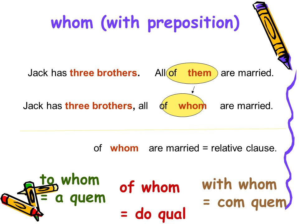 whom (with preposition)