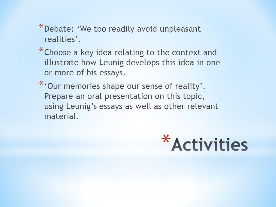 Belonging Essay Introduction