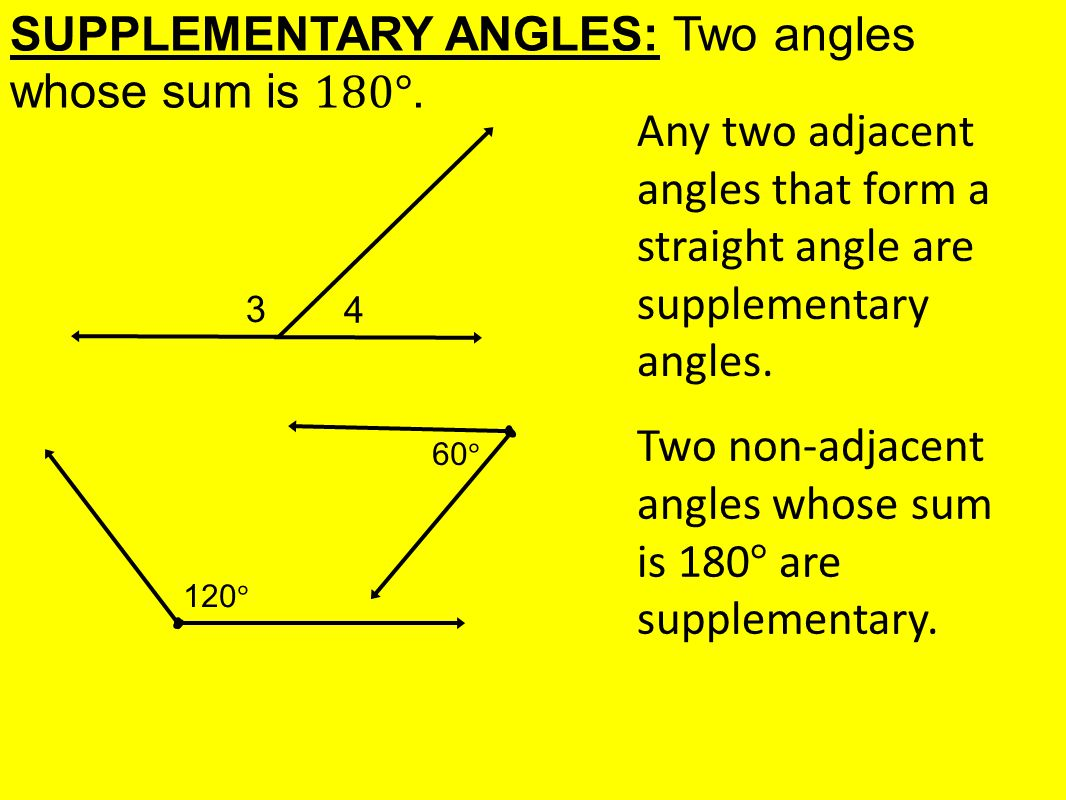 worksheet Supplementary Angles today in learning goal 1 5 angle pair relationships 6 supplementary angles