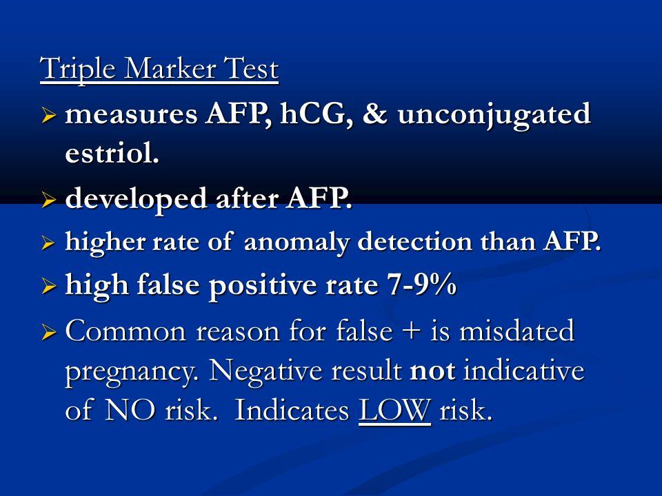 Afp negative pregnancy