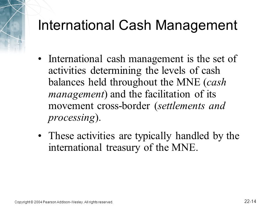 MULTINATIONAL WORKING CAPITAL MANAGEMENT Homework Help