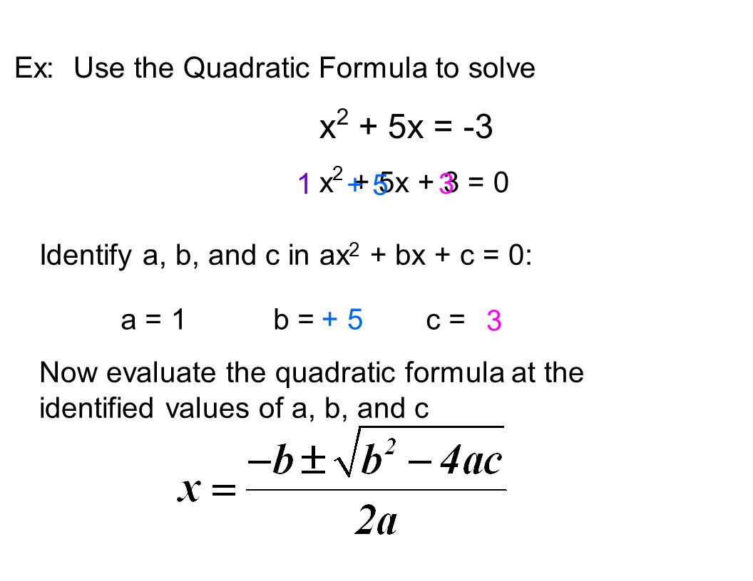 Quadratic Equations Msjc San Jacinto Campus Ppt Download