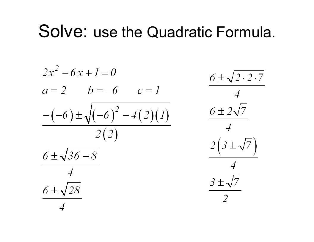 quadratic equations msjc san jacinto campus ppt video online download. Black Bedroom Furniture Sets. Home Design Ideas