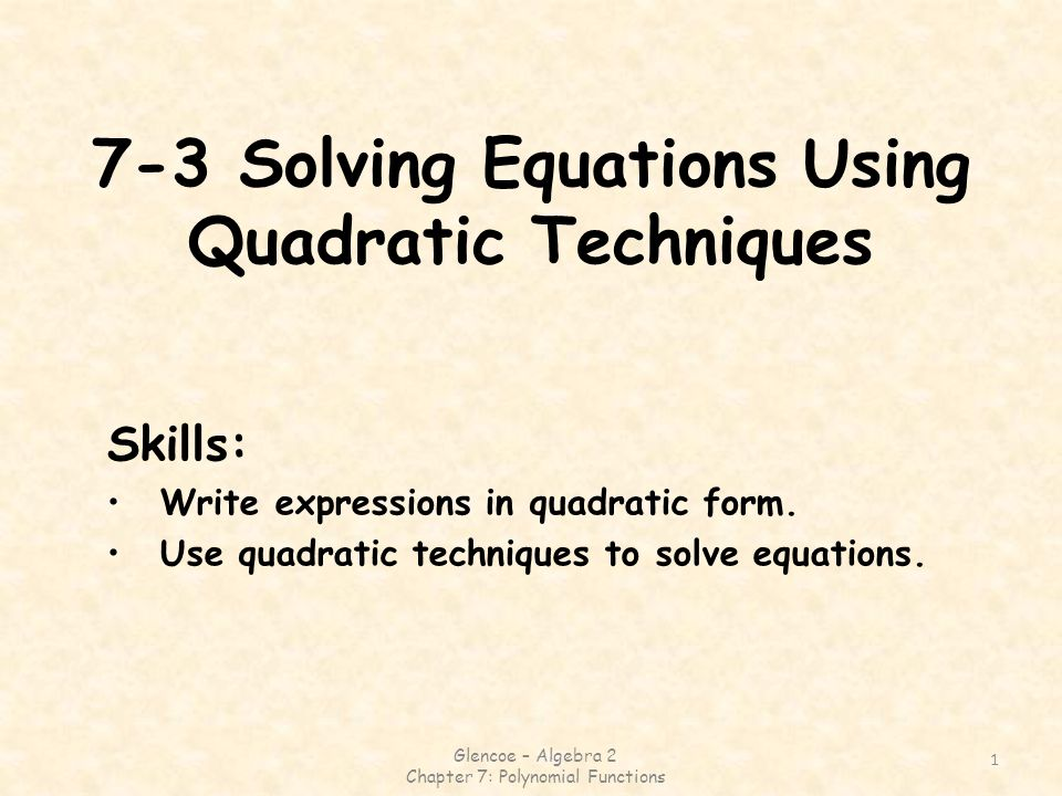 Glencoe Algebra 2 Solving Quadratic Equations By Graphing Answer – Glencoe Algebra 2 Worksheet Answers