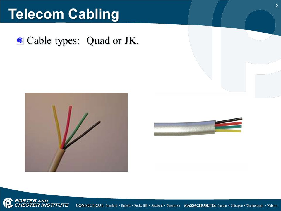 Types Of Cables Ppt - Best Cable 2017