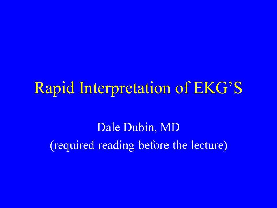 rapid ekg interpretation dale dubin pdf