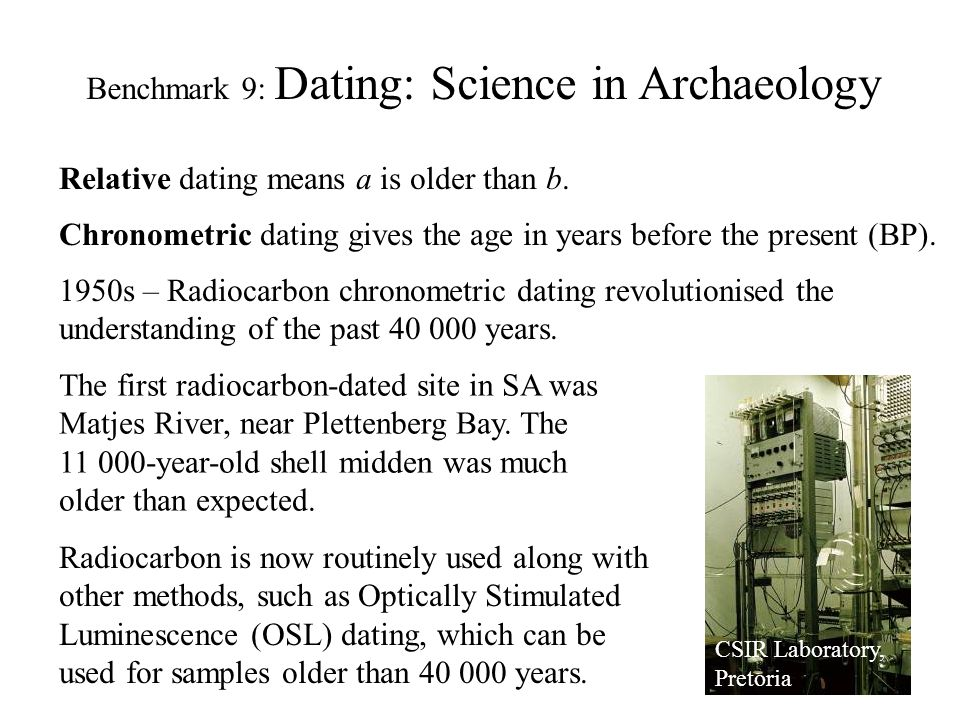Scientific Dating