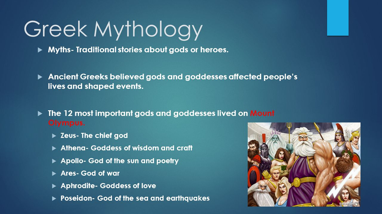 greek mythology importance Alexander the great and the importance of greek legends like achilles september 20 much of greek mythology was meant to explain the world to the greeks.