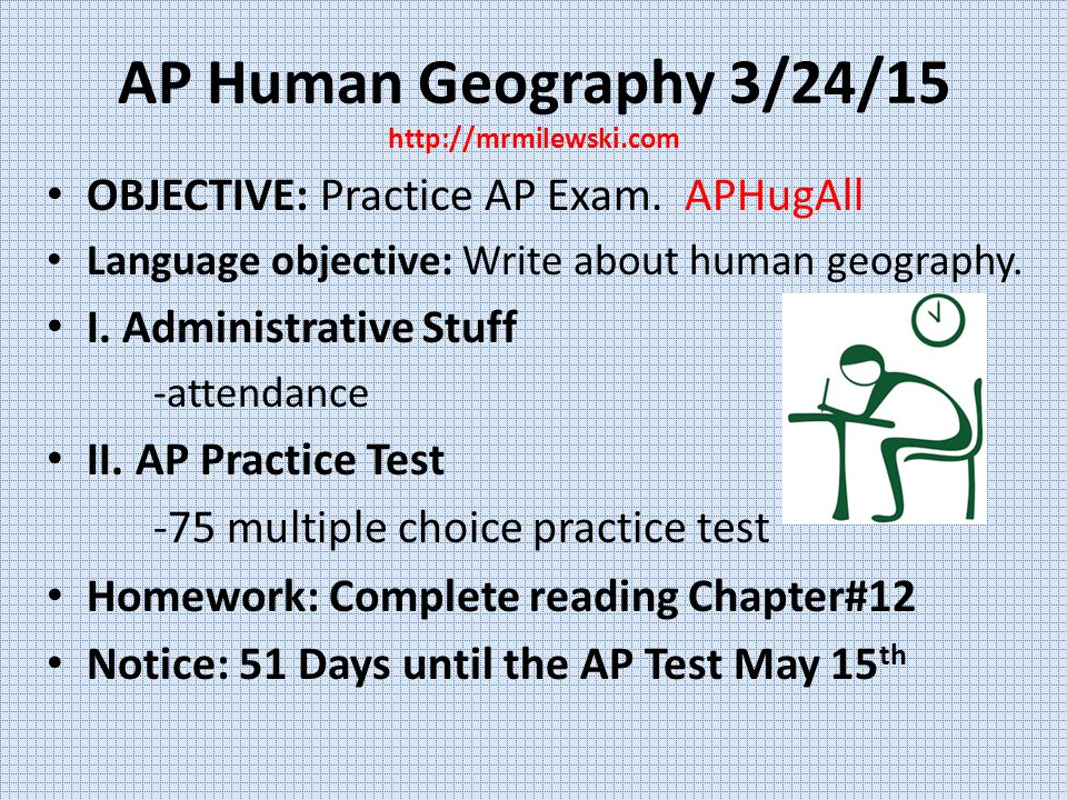 ap human geography chapter 2 study Upon completion of this course students will be given the opportunity to take the advanced placement test rubenstein chapter 2 ap human geography.