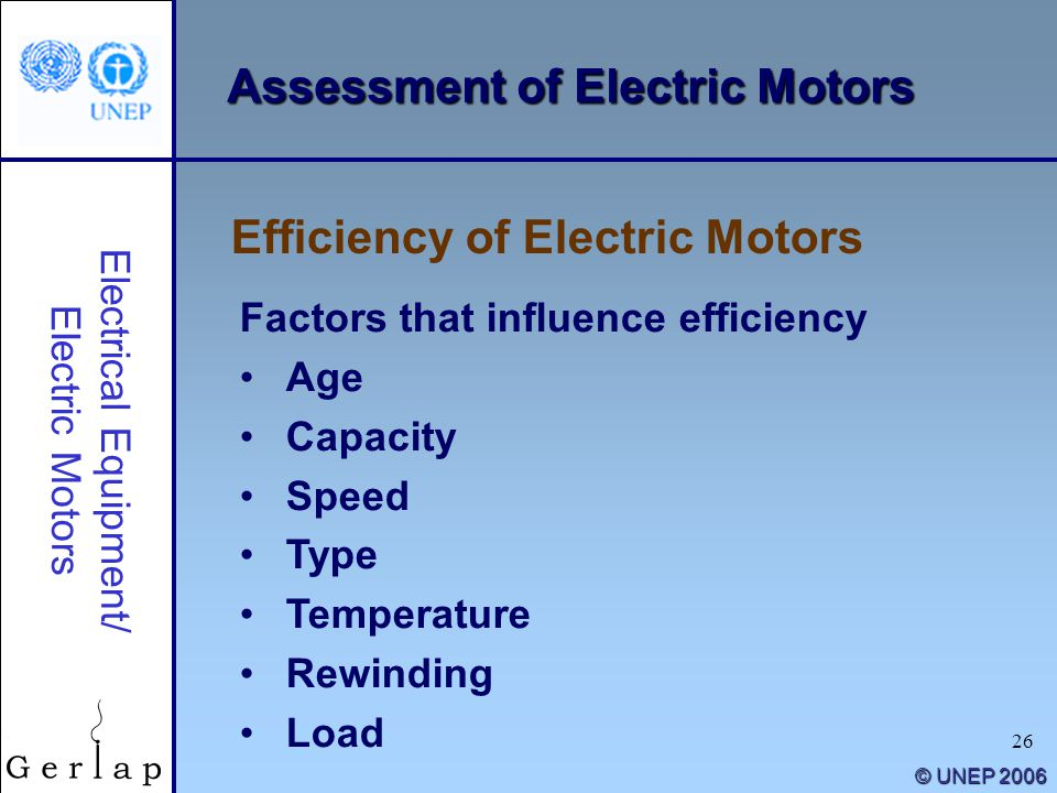 Energy efficiency guide for industry in asia ppt download for Most efficient electric motor
