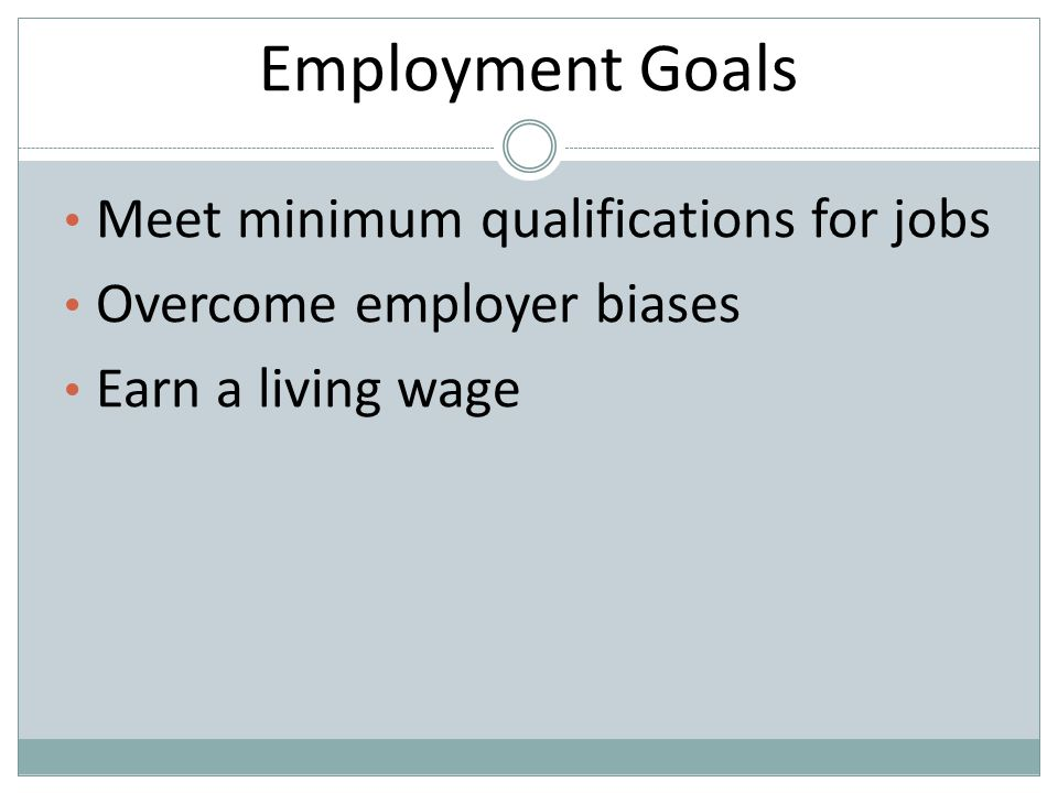 employment qualifications