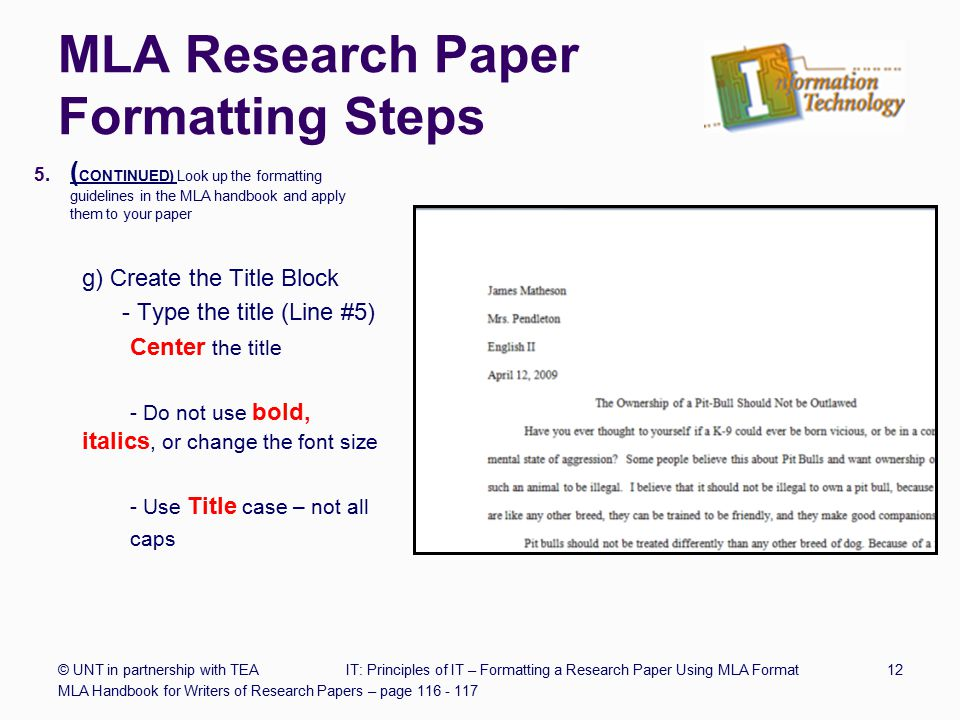 titles research paper underlined Definitions for important terms and concepts (bold and underlined text)   extraneous information, such as first names, paper titles, or scientific.