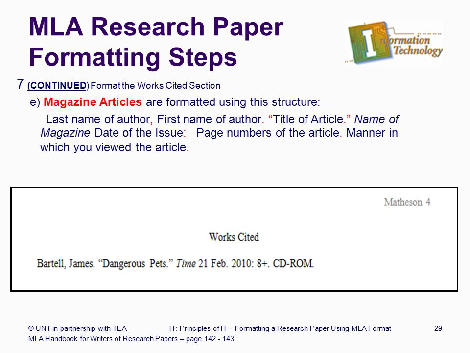 mla format for a magazine citation machine helps students and professionals properly credit the information