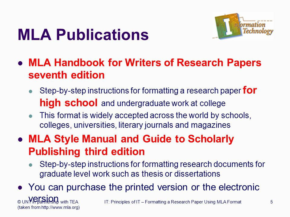 mla handbook for writers of research papers 7th edition paperback Mla handbook [the modern language association of america] on amazoncom free shipping on qualifying offers the modern language association, the authority on research and writing, takes a fresh look at documenting sources in the eighth edition of the mla handbook.