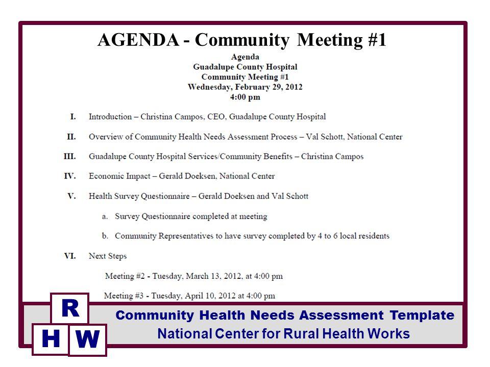 AGENDA - Community Meeting #1 - ppt video online download