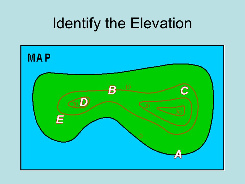 Topographic Maps TOPOGRAPHIC MAPS Ppt Video Online Download - How to determine sea level elevation