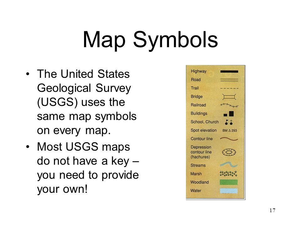 Us Map Symbols