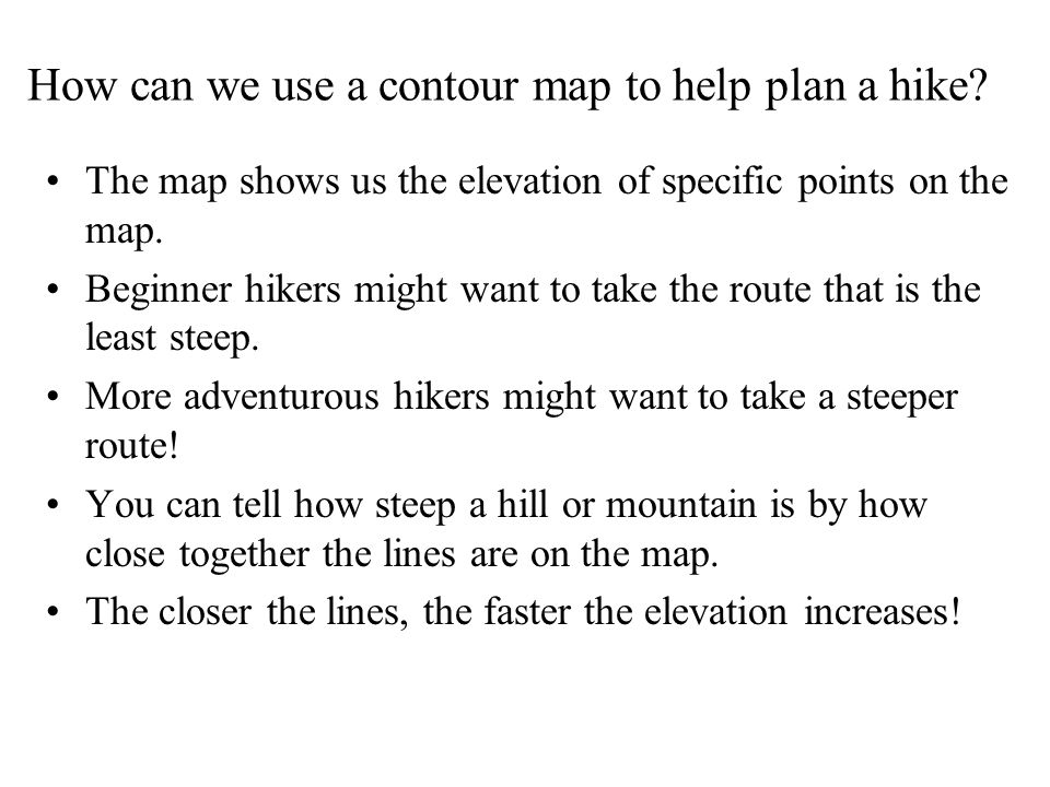 What is a contour map and how do I read it ppt video online