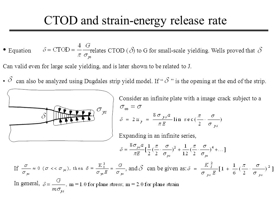 strain energy release rate pdf
