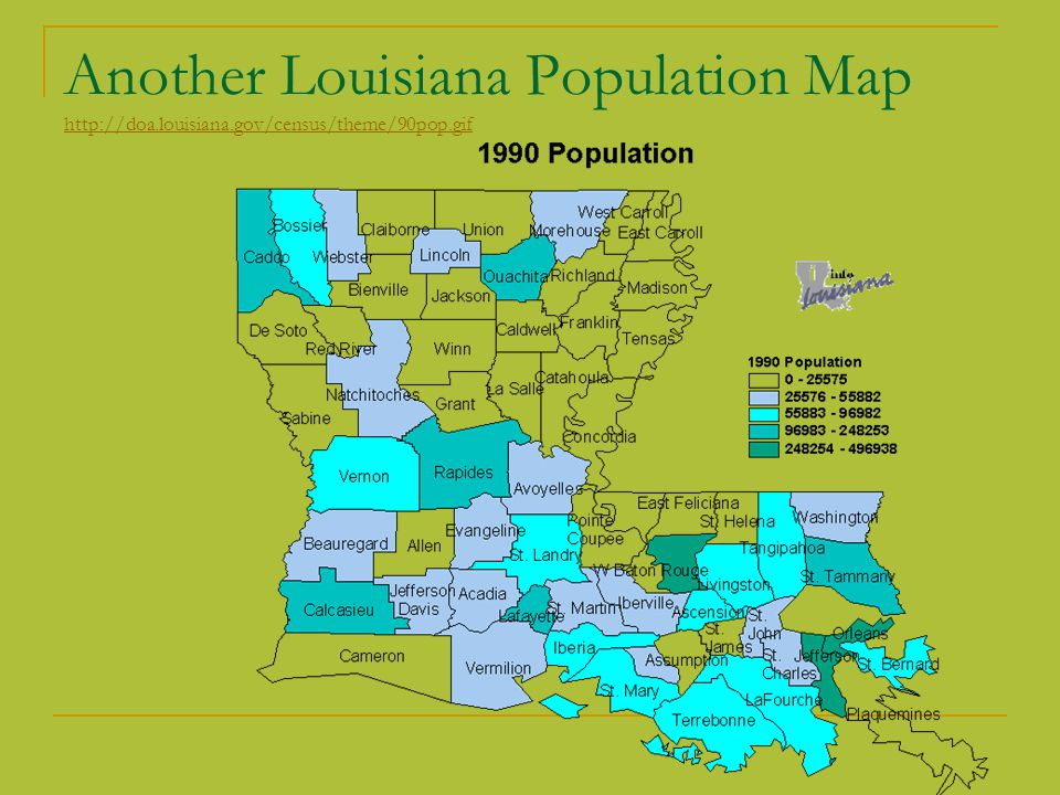 What Are Some Natural Resources In Louisiana