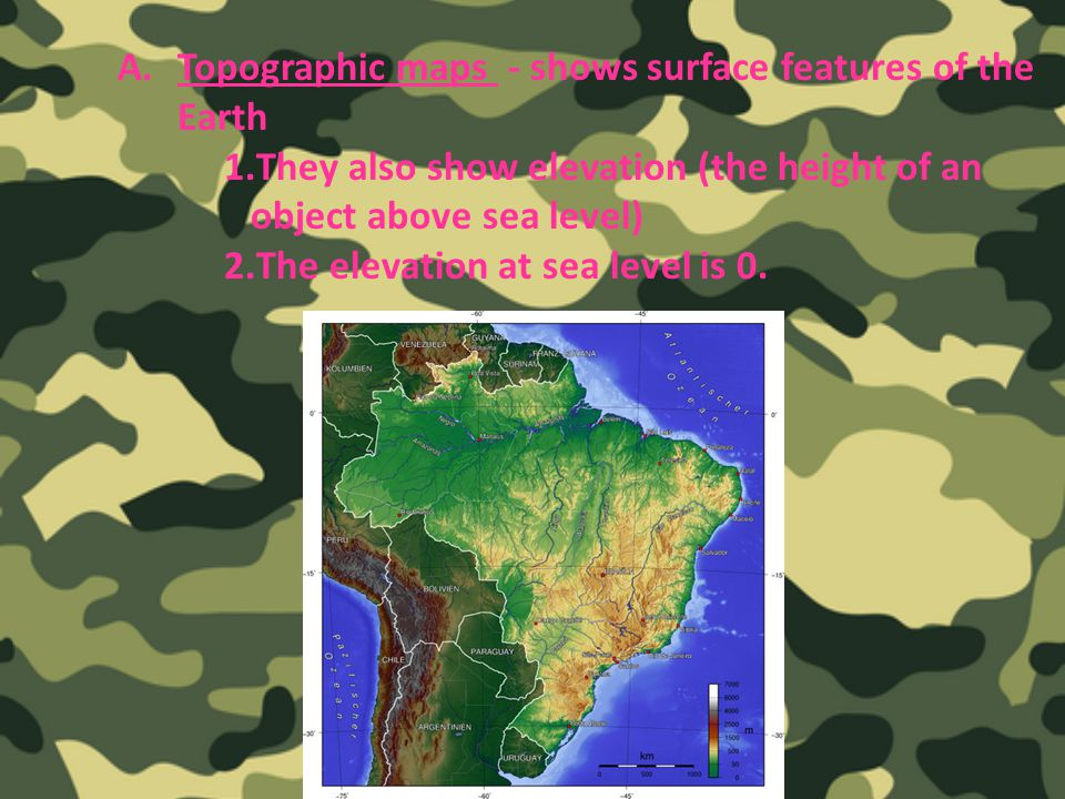 Sci Topographic Maps Pages Ppt Video Online Download - Earth topographic map