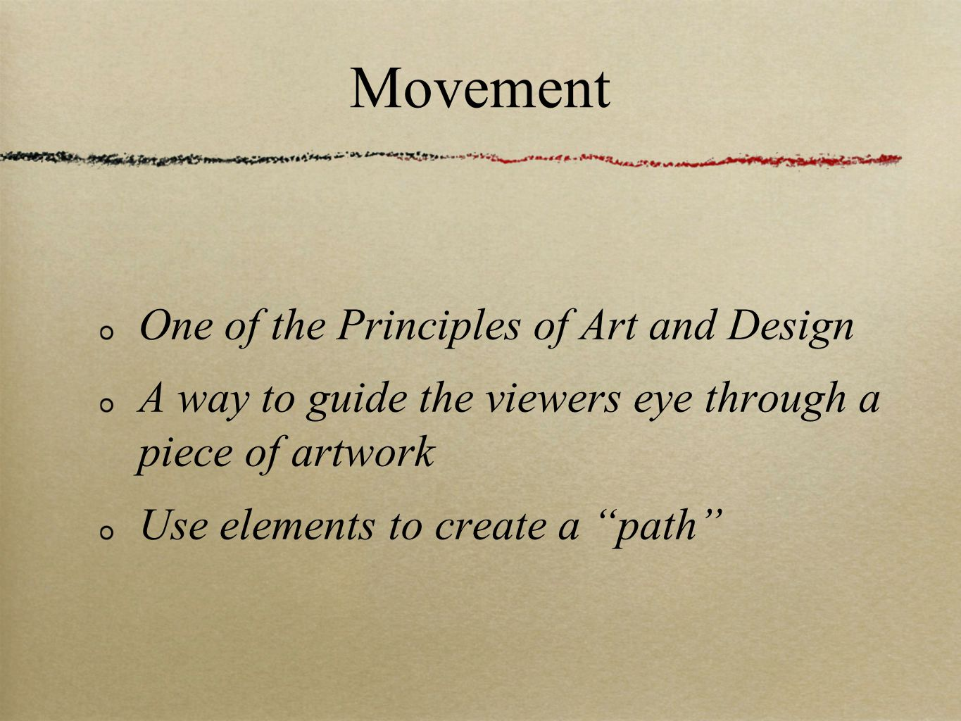 Principles Of Art Movement : Line a basic element but essential ppt video online