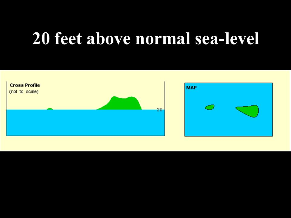 Maps Ppt Download - Feet above sea level
